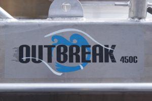 Outbreak 450C special gemaakt voor Bunkerstation Papendrecht