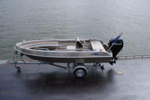 Outbreak 450C kan ook op een trailer